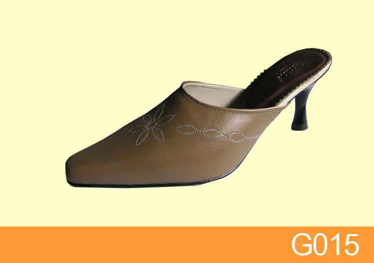 G15 Sepatu Selop Wanita Kulit 5 | Toko Sandal Sepatu ...