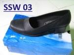 Sepatu Pantofel Wanita Handmade Kulit