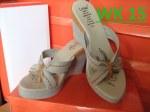 Gambar Sandal Wedges Handmade Terbaru