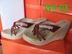 Jual Sandal Wedges Wanita Branded